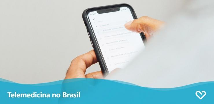 A Telemedicina no Brasil